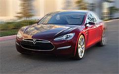 Tesla S elbil
